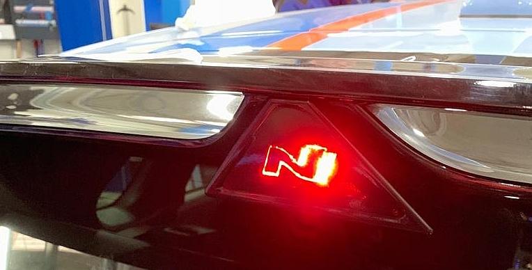 N Logo Für 3 Bremsleuchte